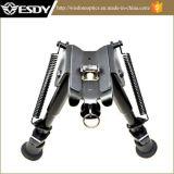 """Adjustable 6""""-9"""" Rifle Bipod Compact Metal Mount Folding Picatinny Rail"""