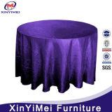 Purple Jacquard Pattern Table Cloth for Wedding