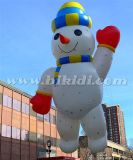 Giant Inflatable Flying Snowman, Parade Helium Balloon for Christmas K7145