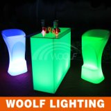 Color Changing Glow Club Bar LED High Chair