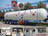 Top Safety LPG Trailer Asme LPG Tank Trailer