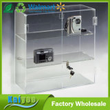 16.5 by 16.25-Inch Countertop Acrylic Display Case with 2 Shelves