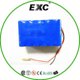 Rechargeable 18650 Li-ion Battery Pack Bluetooth Lithium Polymer Battery