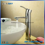 UK Style Deck Mounted Chrome Finished Brass Bathroom Basin Faucet