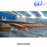 Solid Oak American Local Best Seller Imported Coffin and Casket