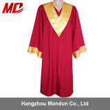 Doctoral Graduation Gown-UK Style with Gold Piping
