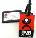 Customized Metal Plastic Soft PVC Rubber Silicone Leather Luggage Tag