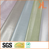 Polyester Anti-UV Reflective Fire Retardant Fireproof One Way See Through Lurex Fabric