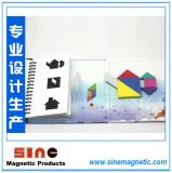 Hot Book-Style Magnetic Tangram Puzzle Brain Teaser Kids Montessori Iq Educational Game Toy for Children 72 Challenges