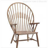 Hans Wegner Chinese Antique Peacock Personalized Wooden Armchair (SP-EC709)
