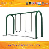 Outdoor Double Swing for Gym Fitness Playground Equipment (QTL-3604)