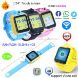 Newest 3G WiFi Kids GPS Tracker Watch with Rotation Camera D18s