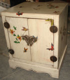 Antique Furniture Wooden Hand Painted Cabinet Lwb472