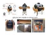"21"" Outdoor Kitchenware Kamado BBQ Ceramic Grill"