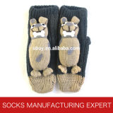 Babies′ 3D Anti Slip Home Sock (UBUY-107)