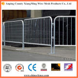 Galvanized Steel Crowd Control Barrier for Road Safety
