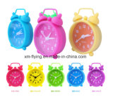 Unbreakable Bedroom Mute Silicone Mini Table Alarm Clocks for Home Decoration