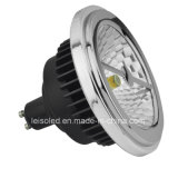 TUV GS Approval COB Reflector 15W LED GU10 AR111 (leisoA)