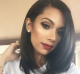 Remy Human Glueless Full Lace Wig with Baby Hair