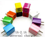 2015 High Quality New Hot Sell 2 Port USB Charger for iPhone Charger/Android Cellphone