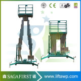 8m Outdoors Alloy Working Lift Aerial Aluminum Platforms