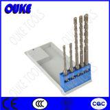 5 Piece Tct SDS Plus Hammer Drill Bits for Concrete