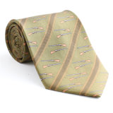 100% Silk Polyester Custom Made Fancy Printed Necktie (NT-013)