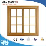 New Model Aluminium Profile Double Glazing Sliding Window Grill Design