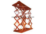 Parking Car Lift hydraulic 3000kg scissor car platform with CE