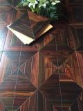 Never Simple Style Indonesia Rosewood with Flower Parquet Flooring