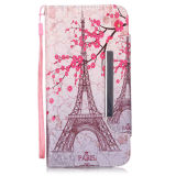 PU Leather Case Wallet Filp Cover for iPhone6 6s Colored Drawing