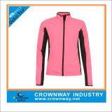 Fashion Pink Waterproof Outdoor Jacket for Running