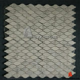 Wave Shape Pattern Marble Stone Mosaic for Kitchen Tile
