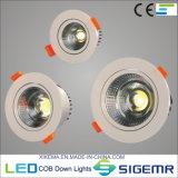 Recessed COB LED Downlight 5W 7W 12W