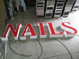 LED Facelit Illuminated Channel Letters Sign