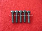 Precision Black Hexagonal Zirconia Ceramic Thread screw
