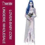 Halloween Zombie Bride Corpse Bride Adult Costume (L15265)