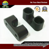 CNC Machining Process Aluminum Electronic Components with Black Anodized Finish