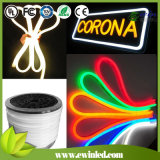 Milk White/Color Jacket LED Neon Flex with 10 Colors Glow