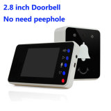 2.4GHz Digital Wireless 2.8 Inch Doorbell with Infrared Night Vision Hands-Free Talk