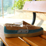 Stylish Model Vulcanized Rubber Outsole Men Winter Canvas Shoes (SNC-03049)