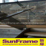 Aluminium Profile Glazing Aluminium Balustrade for Villa Use
