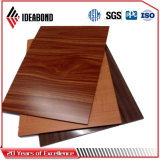 Wooden Look Polyester Aluminum Composite Panel for Ceiling