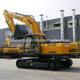 24 Ton Crawler Type Hydraulic Excavator with Isuzu Engine