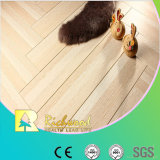 12.3mm E0 HDF AC4 Crystal Cherry Waxed Edged Laminate Floor