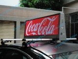 P5mm Full Color 3G/4G Wireless Taxi Top LED Display