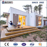 Portable Prefabricated Steel Structure Container House with Ce Certification