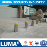 High Quality 304 Stainless Steel Hydraulic Semi Automatic Rising Security Bollard
