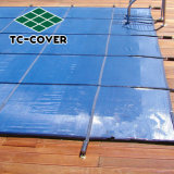 Custom Made Logo Mesh Pool Safety Cover for Prevent Kids and Pets From Falling Into The Pool