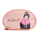 Cute Gril Travel PU Cosmetic Bags Women′s Waterproof Wash Make up Organizer Pouch Toiletry Case Accessories Supply Products